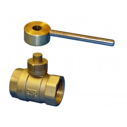 ZENNER Magnetic Curb Stop Valve