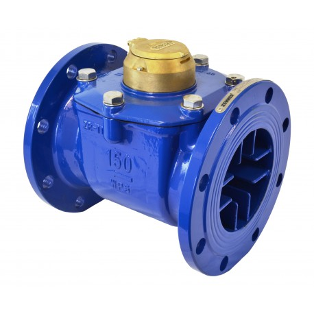 PMT - Cast Iron Turbine Water Meter