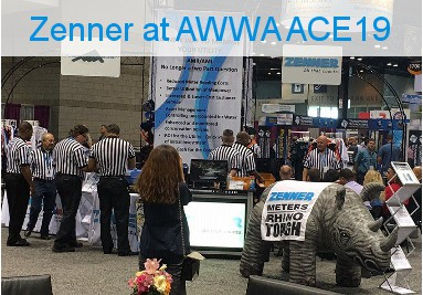 Zenner at AWWA ACE19
