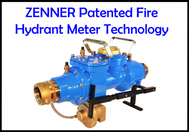 Zenner Patented Hydrant Meter Technology